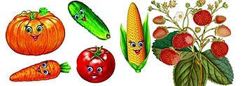 Загадки про фрукты и овощи для детей